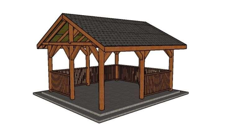 14x16 Pavilion