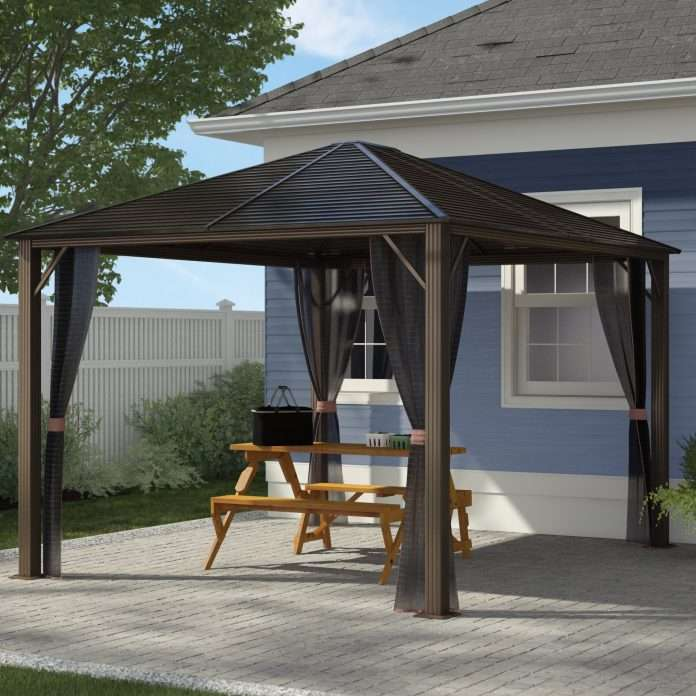 anchoring gazebo to pavers patio holiday hours