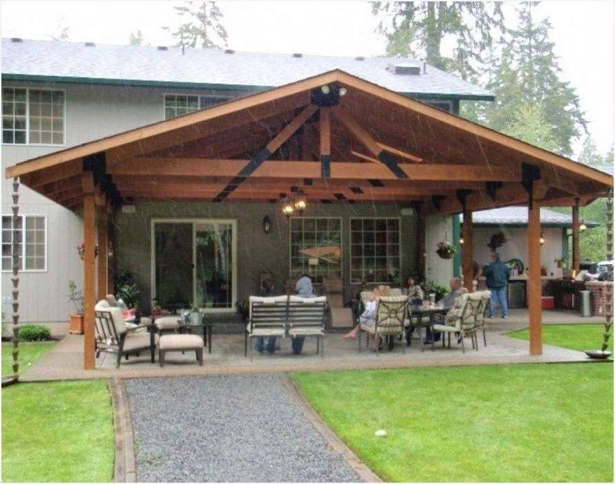 Covered Patio Roof Designs » Looking for Patio Pergola ...