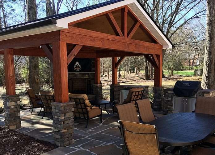 do i need an outdoor tv for my porch archadeck of charlotte