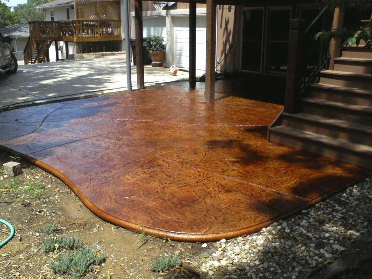 E15 Epoxy Stamped Concrete Sealer
