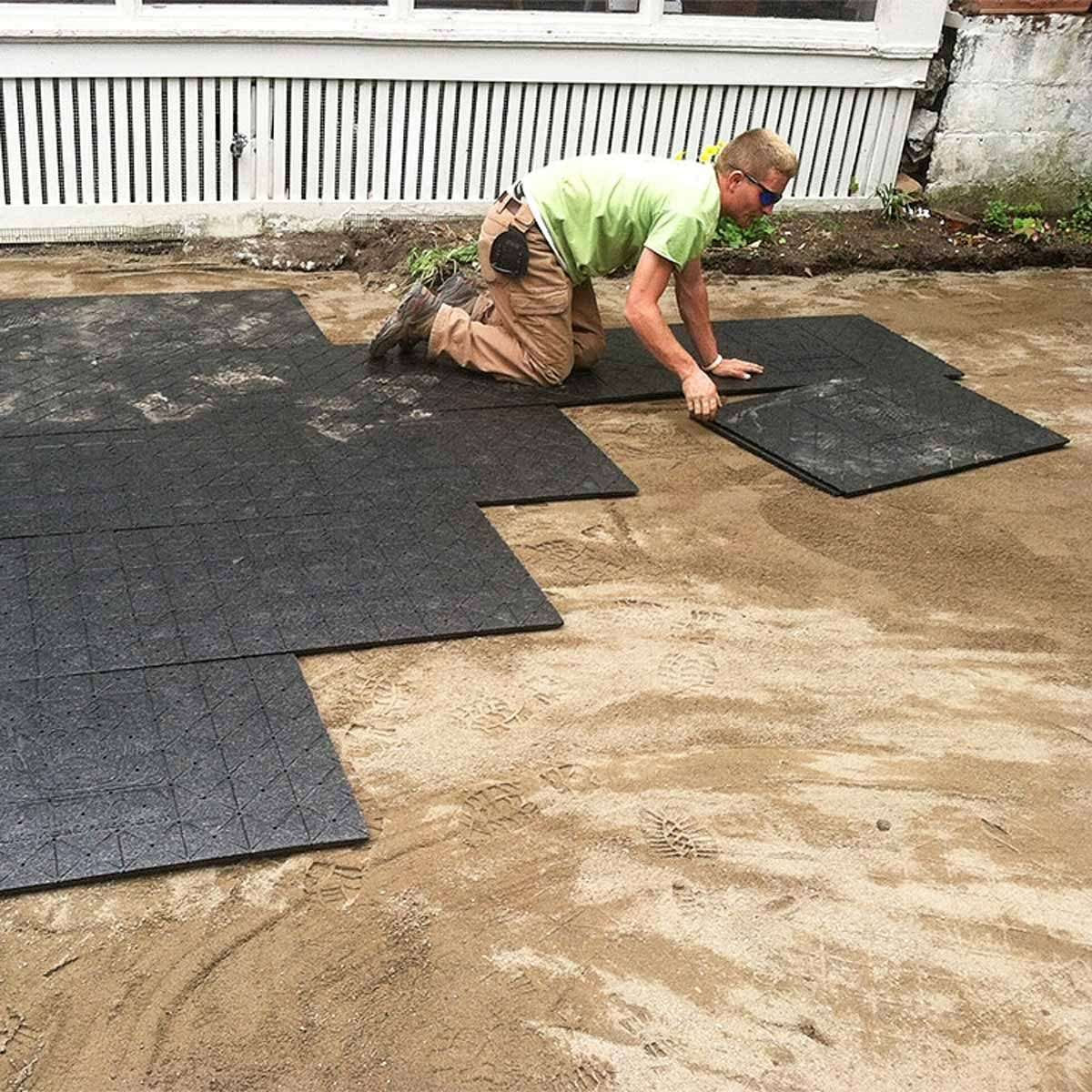 Easier Paver Patio Base That Will Save Your Back