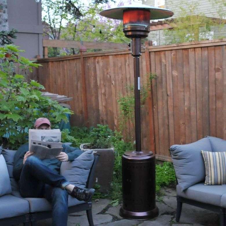 Fire Sense Outdoor Patio Heater Review: Impressive Heat ...