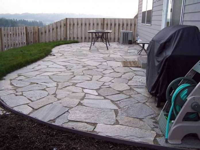 flagstone patio lawnsitetm is the largest and most active