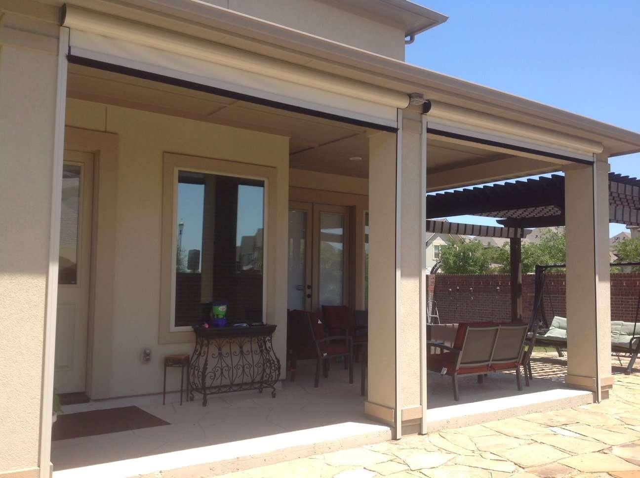 Houston, TX Motorized Retractable Screens, Solar Screens