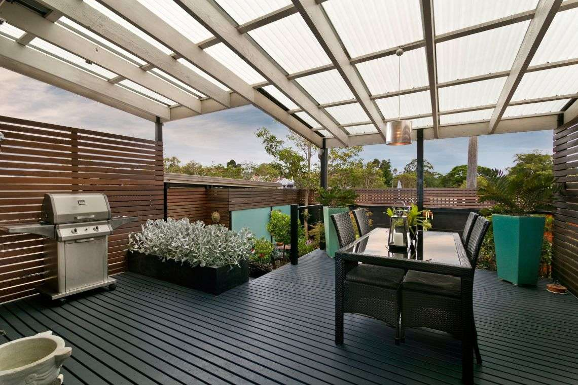 How to Attach a Patio Roof to an Existing House &  10 ...