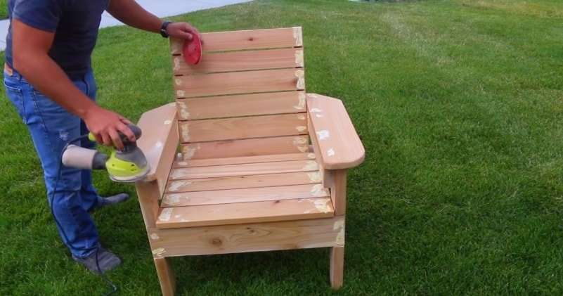 How To Build a Patio Chair Out Of wood