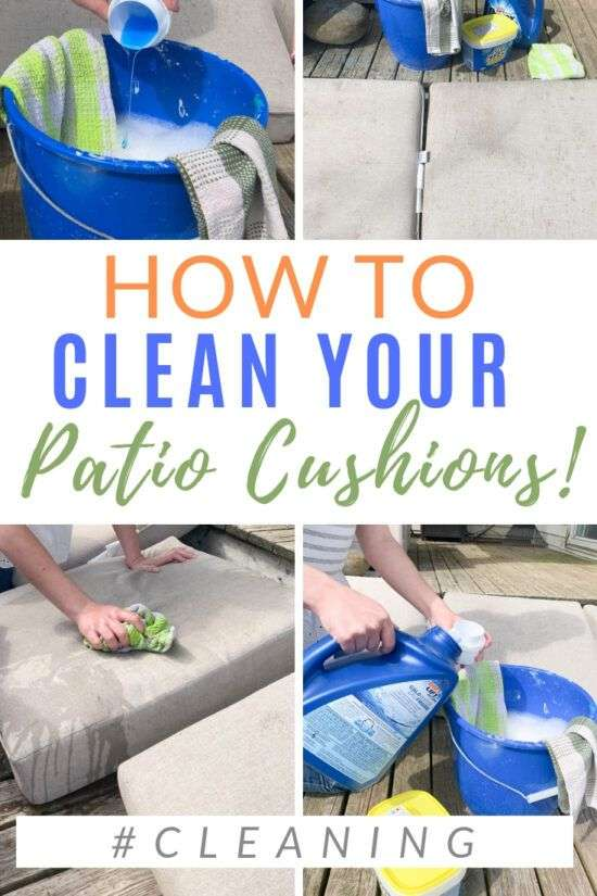 How to Clean Patio Cushions [Easy Guide]