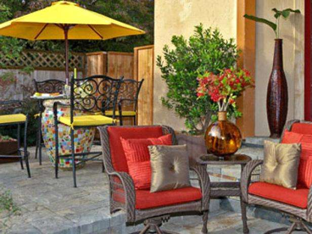 How to Clean Patio Furniture Cushions and Canvas