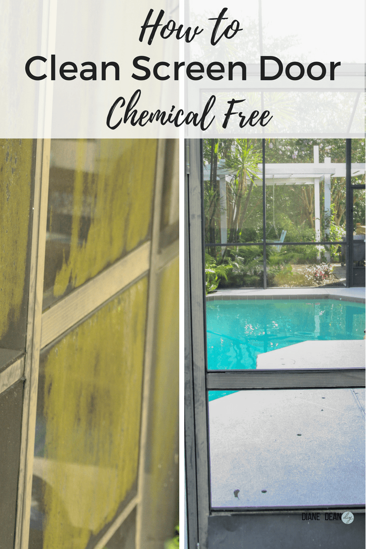 How To Clean Your Patio Screen Door Chemical Free. Remove ...