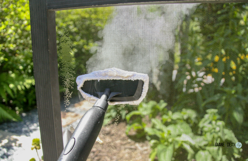 How To Clean Your Patio Screen Door Chemical Free