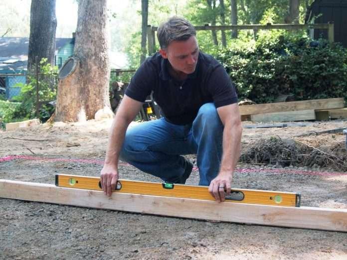 how to lay a paver patio diynetwork com diy patio
