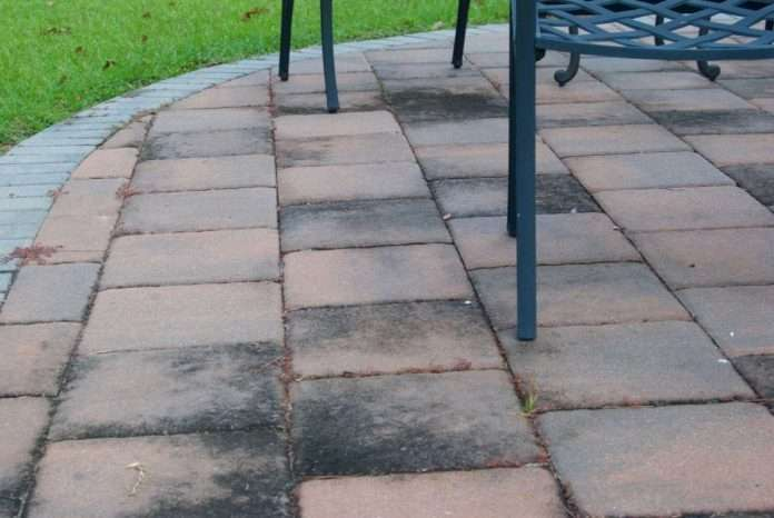 how to remove moss on brick patio patio ideas