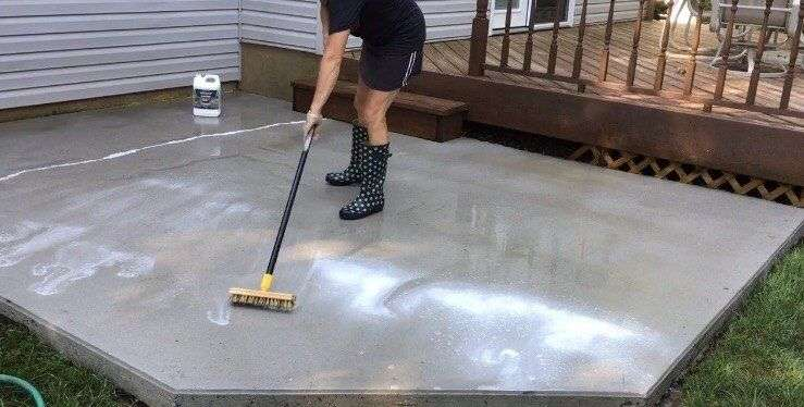 How to Turn a Bland Concrete Patio Into Something Special ...