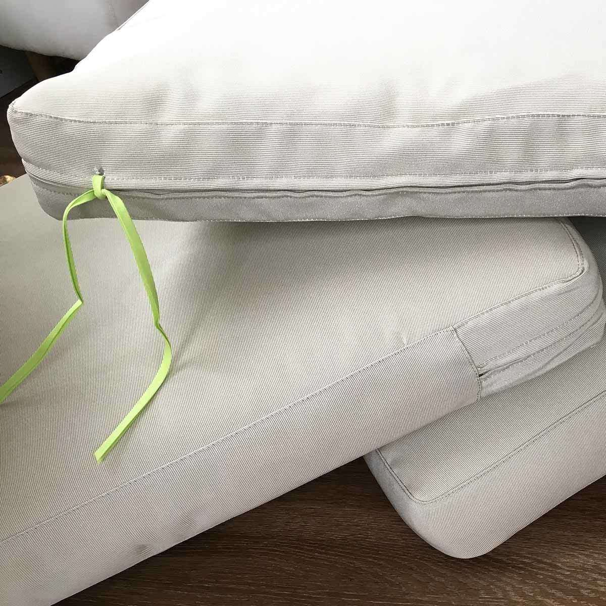 IKEA Hacks: Add Ties to Outdoor IKEA Patio Cushions