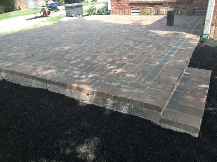 indianapolis paver patio contractor precision cut