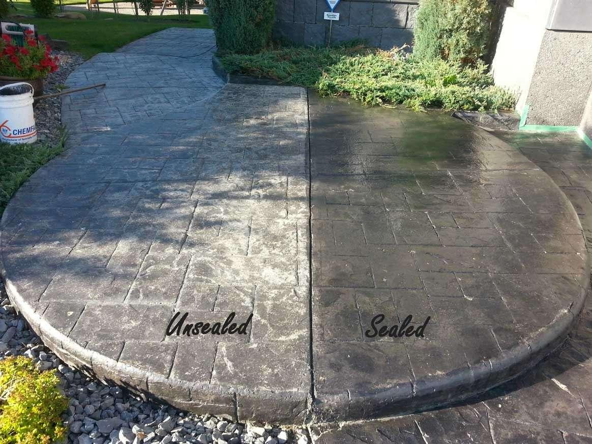 Modern Outdoor Concrete Sealer Arts, Great Outdoor ...