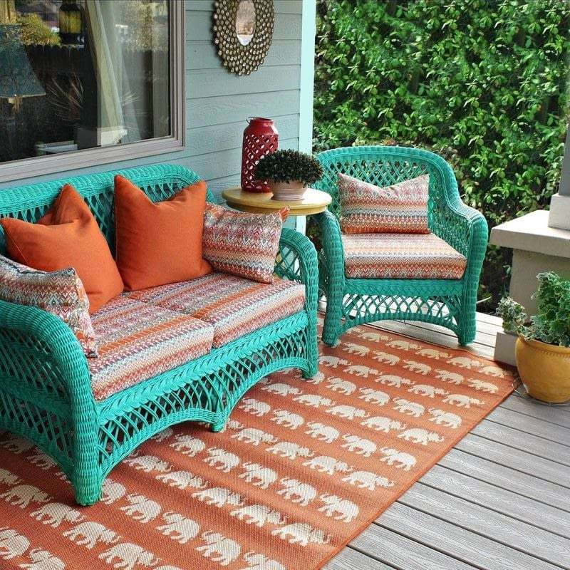 No Sew Patio Cushions And Pillows · How To Make A Pillow ...