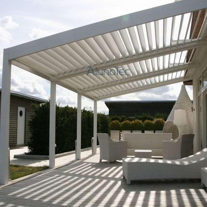 outdoor patio adjustable louver roof pergola buy patio