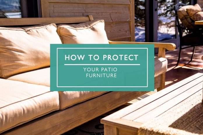 protecting your patio furniture from the sun rain and