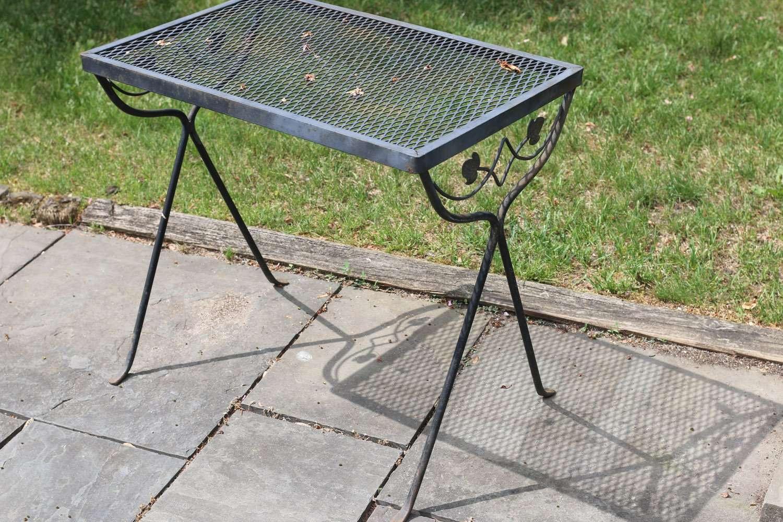 Vintage wrought iron patio furniture (Salterini/Tempestini ...